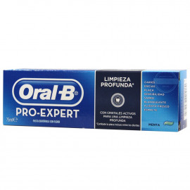 Oral B toothpaste 75 ml. Pro Expert Deep clean.