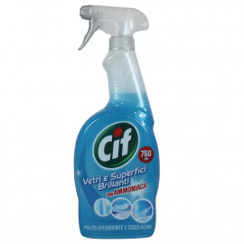Cif clean y brightness spray 750 ml. Ammonia.