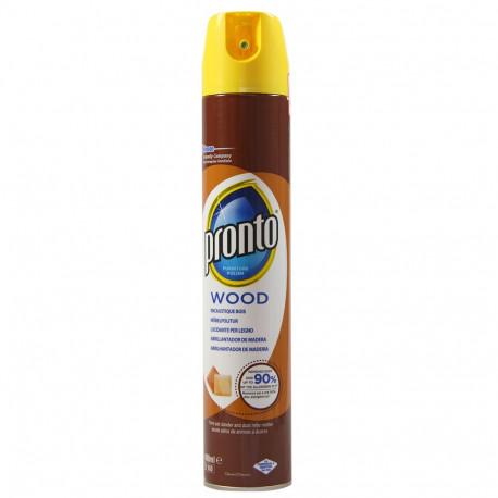 Pronto forniture polish spray 400 ml. Wood.