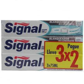 Signal toothpaste pack 3X2 Bicarbonate.