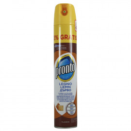 Pronto limpiamuebles spray 400 ml. Classic.