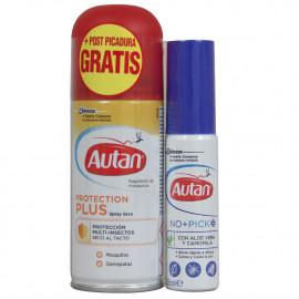 Autan repelente antimosquitos 100 ml. + Espray post picadura 25 ml.