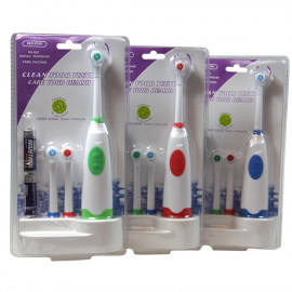 Electric toothbrush with three refill.