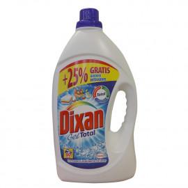 Dixan Gel detergent 50 dose 3,100 l. Blue Total.