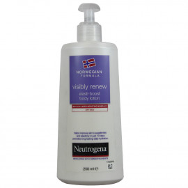 Neutrogena loción corporal 250 ml. Visibly renew elasti-boost.