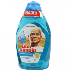 Don Limpio Gel 600 ml. Mármol y Madera.