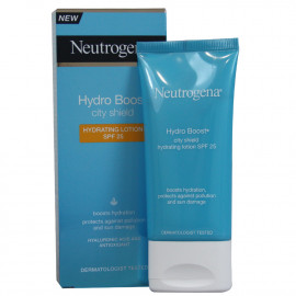 Neutrogena Hydro boost crema cara 50 ml. Hidratante City shield.