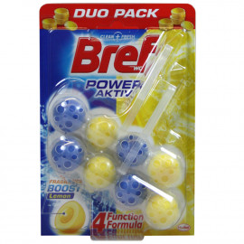 Bref WC Power Active 2X50 gr. Limón.