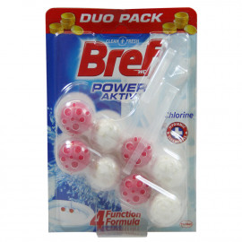 Bref WC Power Active 2X50 gr. Cloro.
