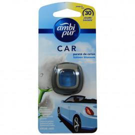 Ambipur car freshener clip 2 ml. Cotton.