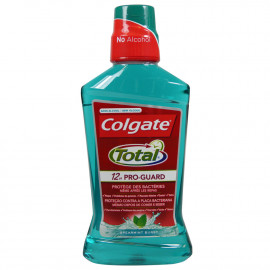 Colgate enjuague bucal 500 ml. Total Green.