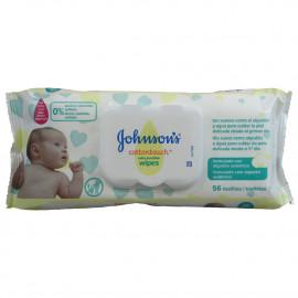 Johnson's toallitas 56 u. Con Tapa.