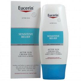 Eucerin aftersun gel-cream 150 ml. Sensitive skin.