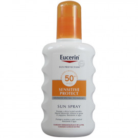 Eucerin Sun Protection spray solar 200 ml. Factor 50 sensitive skin.