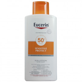 Eucerin Sun Protection sun lotion 400 ml. Factor 50 sensitive skin.