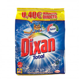 Dixan detergente polvo 15 dosis bolsa (sin vale).