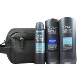 Dove Men care neceser 2 geles 250 ml. + desodorante 150 ml.