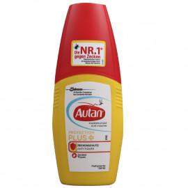 Autan repelente antimosquitos spray 100 ml. Protección plus.