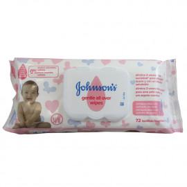 Johnson's toallitas recambio 72 u.