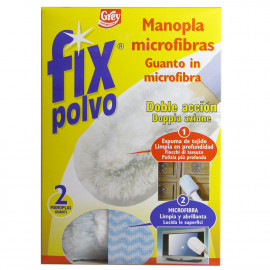 Fix polvo manopla microfibras 2 u.