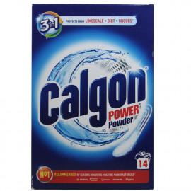 Calgon powder 700 gr. 3 en 1 - 14 dose.