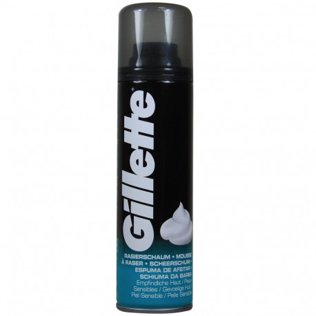 Gillette shave foam 200 ml. Sensitive.