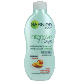 Garnier body milk 250 ml. Intensive seven days.