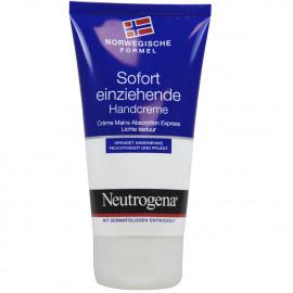 Neutrogena hands cream 75 ml. Fast absorption.