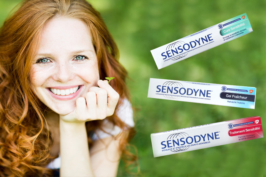 SENSODINE specific mouth care for sensitive teeth
